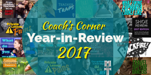 Coachs Corner 2017 Year-in-Review