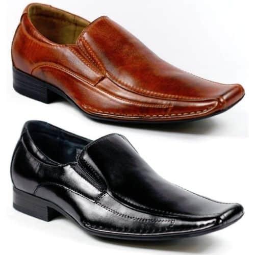 Mens Long Toe Shoes